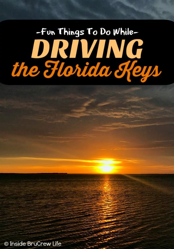 Fun Things to do While Driving the Florida Keys - these are so many fun places to see, restaurants to eat at, and activities to do while driving through the Florida Keys #travel #Florida #roadtrip #sunshinestate