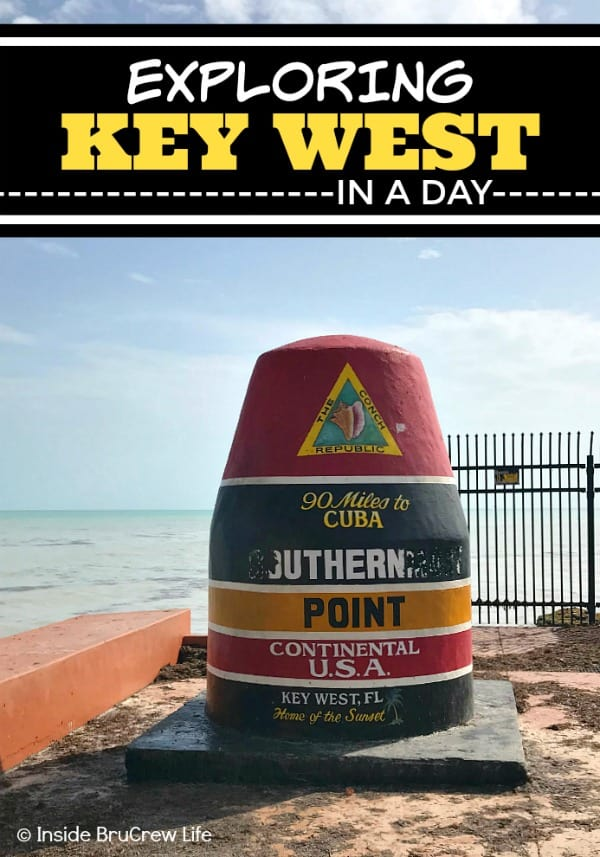 Exploring Key West in a Day - if you have one day to explore Key West, here are a few fun places that you should visit. #keywest #florida #travel #roadtrip #sunshinestate