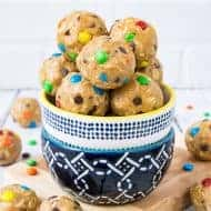 No Bake Monster Cookie Dough Bites