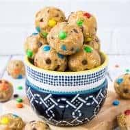 No Bake Monster Cookie Dough Bites