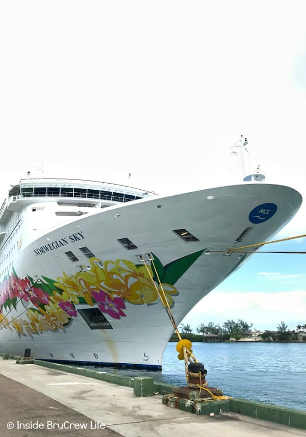 Cruising with Norwegian Cruise Line - your cruise will include food, drinks, activities and so much more when you book on the Norwegian Sky. #cruise #vacation #norwegian #caribbean