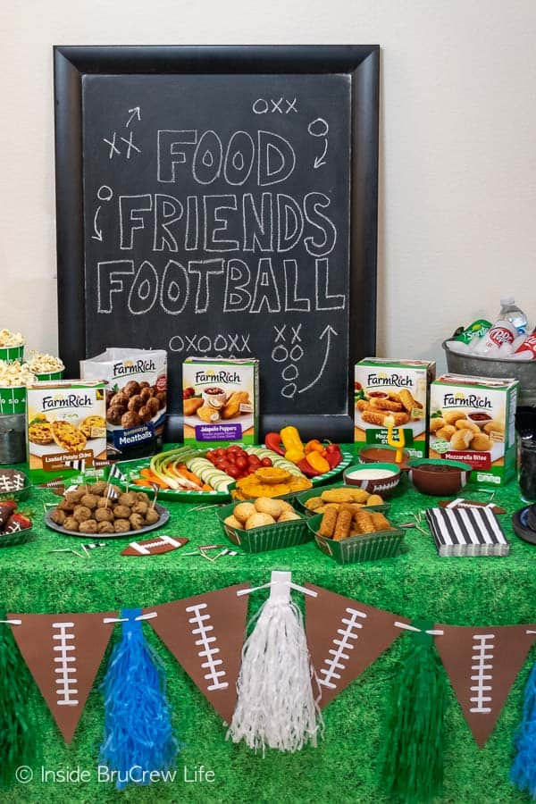 Easy Football Party Ideas Inside Brucrew Life