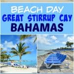 Beach Day on Great Stirrup Cay, Bahamas