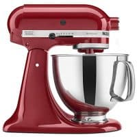 KitchenAid Stand Mixer with Pouring Shield, 5-Quart, Empire Red
