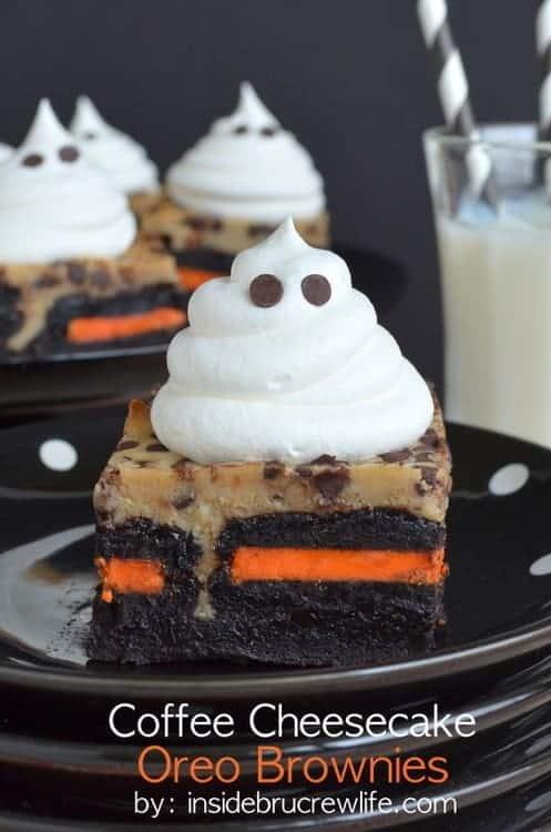 Coffee Cheesecake Oreo Brownies
