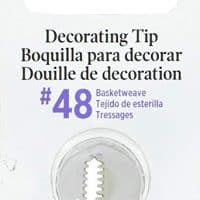 Wilton Decorating Tip, No.48 Basketweave (418-48)