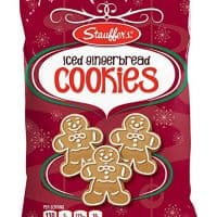 Stauffer's Holiday Cookies, 12 oz. Bags (Set of 2) (Iced Gingerbread)