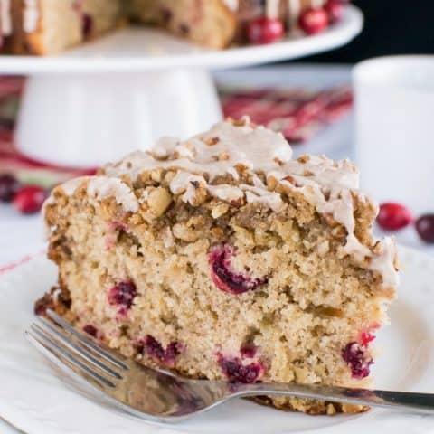 Apple Cranberry Coffee Cake