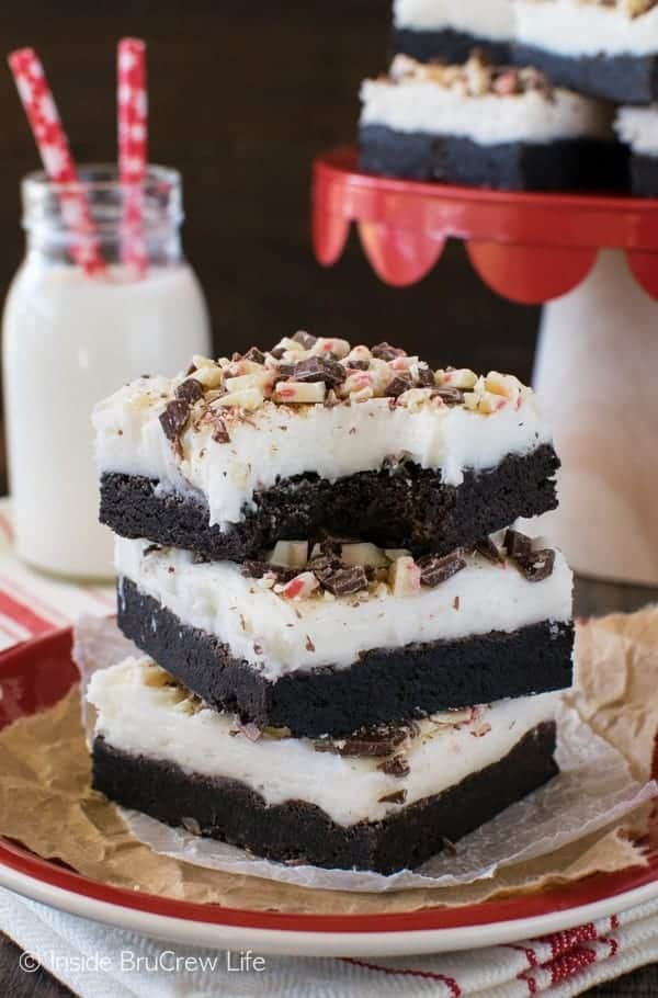 Chocolate Peppermint Bark Sugar Cookie Bars