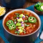 Easy Low Carb Keto Chili