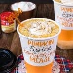 Homemade White Chocolate Pumpkin Spice Latte Recipe