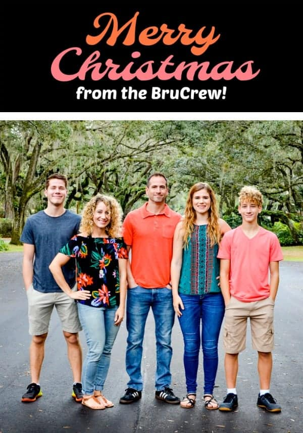 Merry Christmas from the BruCrew