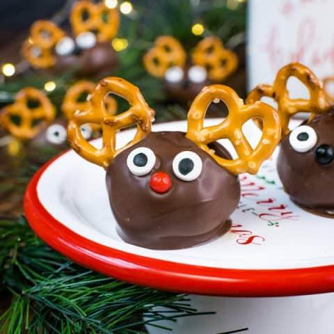 Peanut Butter Reindeer