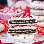 Peppermint Bark Oreo Thins