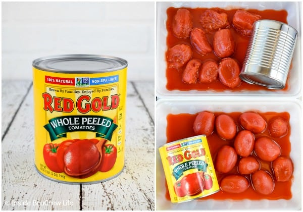 Red Gold Tomatoes comparison