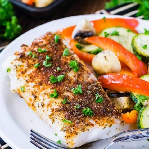 Baked Chili Lime Cod Recipe