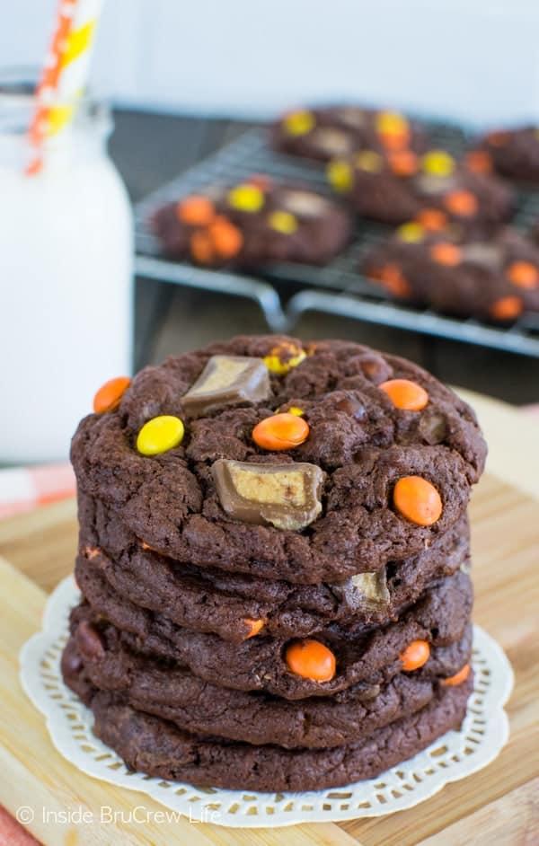Banana Reese's Cookies