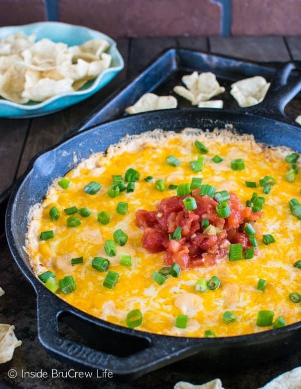 Loaded Hot Corn Dip