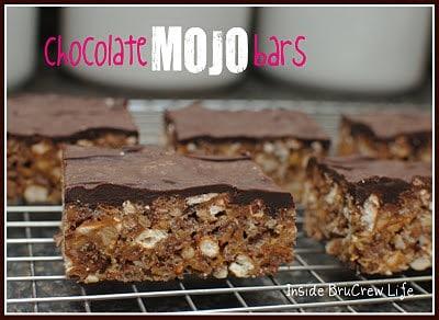Chocolate Mojo Bars