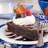 Best Flourless Chocolate Cake Recipe
