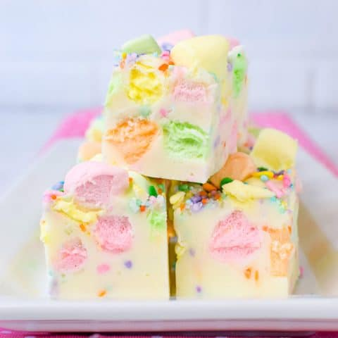 Fruity Marshmallow Fudge