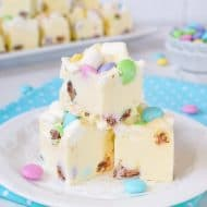 Marshmallow M&M's Fudge