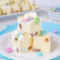 Marshmallow M&M's Fudge