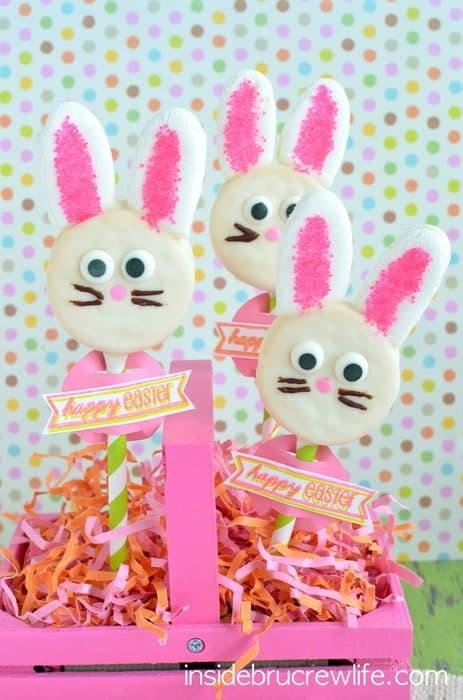 Oreo Bunny Pops