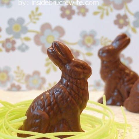 Peanut Butter Easter Bunnies