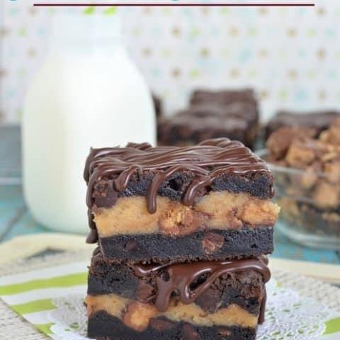 Chocolate Peanut Butter Cheesecake Cookie Bars Recipe