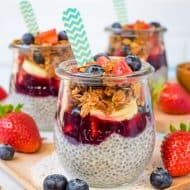 Chia Seed Pudding Parfaits