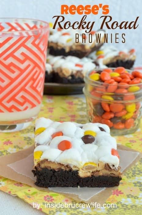 Reese's Rocky Road Brownies