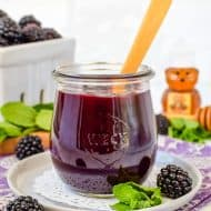 Homemade Seedless Blackberry Preserves
