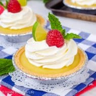 No Bake Mini Key Lime Pies