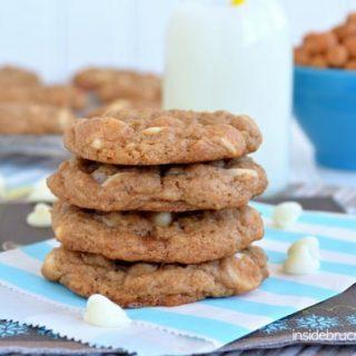 Banana Caramel Cookies