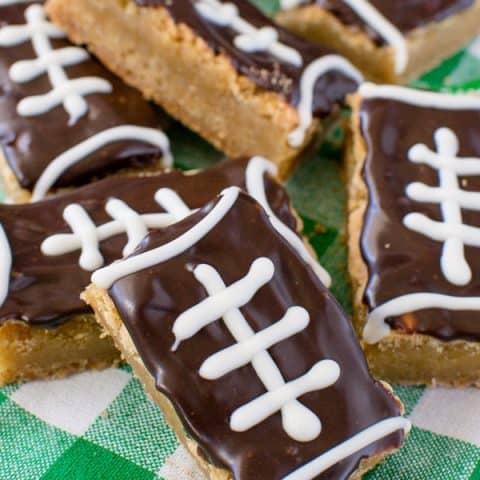 Football Cookie Bars