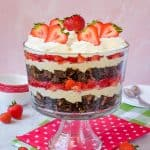 Easy No Bake Neapolitan Cheesecake Trifle