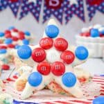 4th of July Rice Krispie Treat Stars