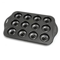 Norpro 3980 Nonstick Mini Donut Pan, 12-Count