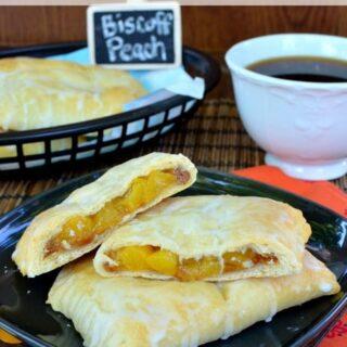 Biscoff Peach Empanadas