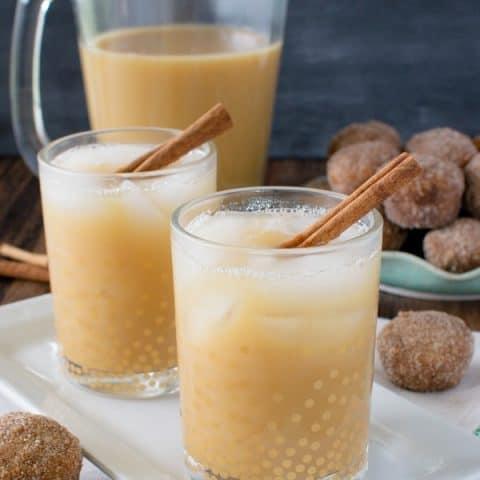 Caramel Apple Cider Iced Tea