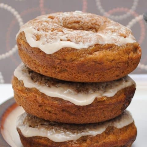 Pumpkin Caramel Latte Donuts