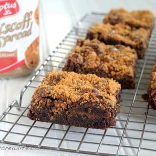 Biscoff Fluff Brownies