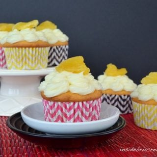 Pineapple Filled Cupcakes