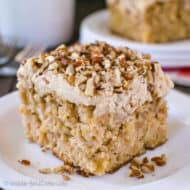 Apple Praline Cake