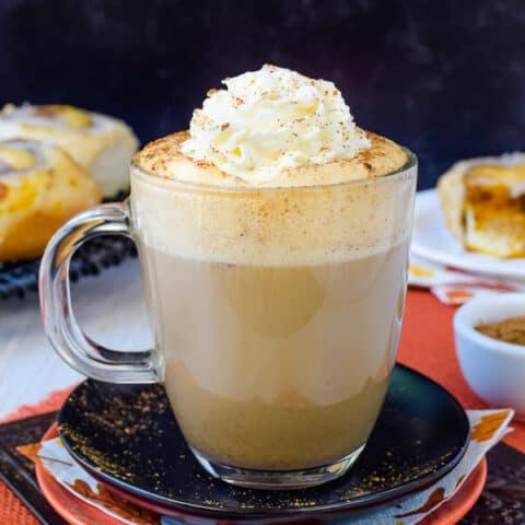 Sugar Free Vegan Pumpkin Spice Latte