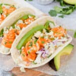 Easy Buffalo Shrimp Tacos Recipe