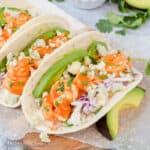 Easy Buffalo Shrimp Tacos Recipe