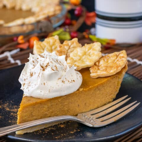 Easy Traditional Pumpkin Pie