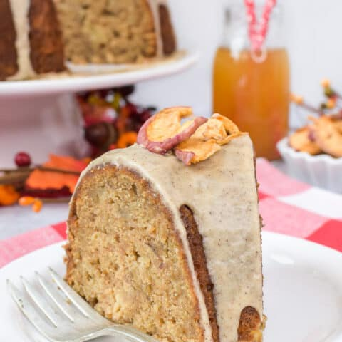 Toffee Apple Bundt Cake